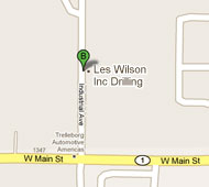 Directions to the Les Wilson Inc. Office
